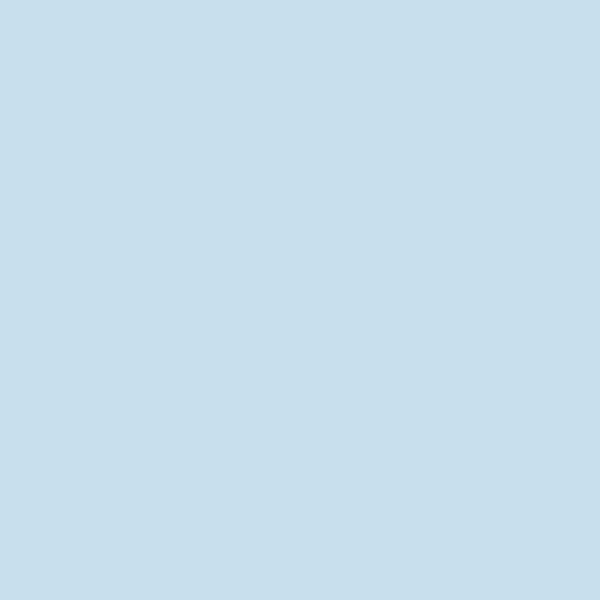 Картон двухсторонний однотонный, цвет ледяной голубой,  50*70см, арт. 6139
