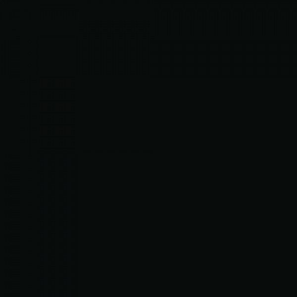 Картон двухсторонний однотонный, цвет черный, плотность 380г, размер 50*70 см, арт. 413890