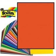 Картон двухсторонний, цвет Оранжевый, A4 формат, плотность 220 грамм арт. 6122-4-40