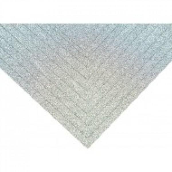 Глиттерный картон А4, цвет ледяной голубой, 250 гр