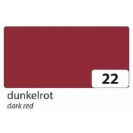 Бумага однотонная двухсторонняя, цвет темно-красный , 50х70 см, арт. 6722