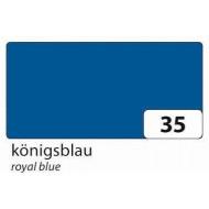 Бумага однотонная двухсторонняя, цвет королевский синий, 50х70 см, арт. 6735