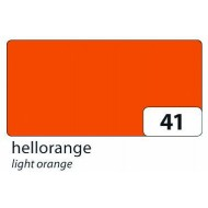 Бумага однотонная двухсторонняя, цвет светло-оранжевый , 50х70 см, арт. 6741