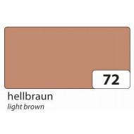 Бумага однотонная двухсторонняя, цвет светло-коричневый, 50х70 см, арт. 6772