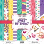 """НАБОР СКРАПБУМАГИ """"SWEET BIRTHDAY"""" 30,5X30,5СМ арт. FDSP-01073"""