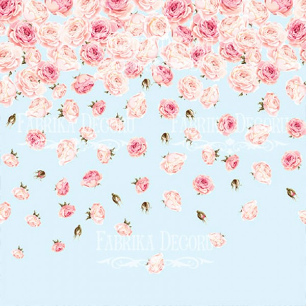 "Набор скрапбумаги ""SENSUAL LOVE"", 20 х 20см  10 листов, 200 гр . арт. FDSP-02033"
