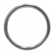 Кольцо разъемное 32 мм, серебро - 2 штуки арт.  K-009-32