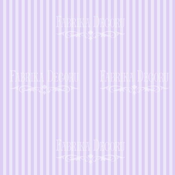"Лист двусторонней бумаги 30*30 из коллекции ""Majestic iris"", арт. MI3"