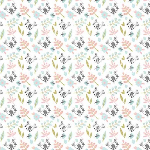 """Лист двусторонней бумаги 30*30 из коллекции """"Scandi baby boy"""" от Фабрики Декору, 30*30 см, арт. SBB1"""