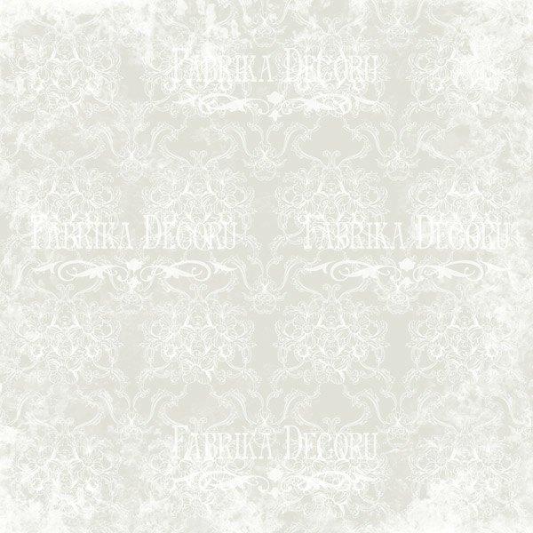 """Лист двусторонней  бумаги 30*30  из коллекции """"Shabby garden"""" от Фабрики Декору, SG2"""