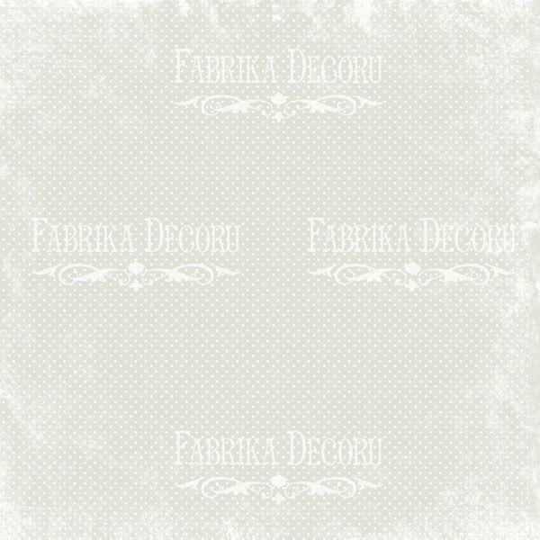 """НАБОР СКРАПБУМАГИ """"SHABBY GARDEN"""", 20X20СМ, арт. FDSP-02049"""