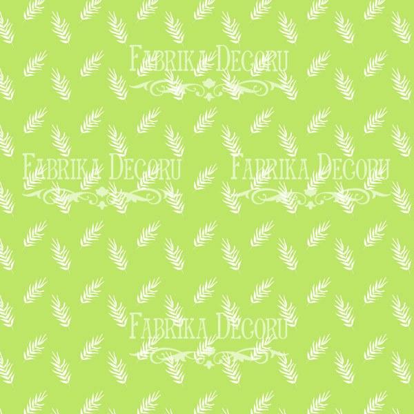 """Лист двусторонней  бумаги 30*30  из коллекции """"Summer holiday"""" от Фабрики Декору, SH2"""