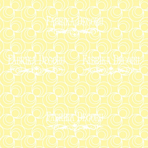 """Лист двусторонней бумаги 30*30  из коллекции """"Summer holiday"""" от Фабрики Декору, SH5"""