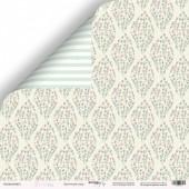 Лист двусторонней бумаги 30x30 от Scrapmir Цветочный ковёр из коллекции Pur Pur