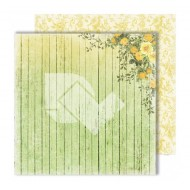 "Лист двусторонней бумаги ""In the garden"" из коллекции ""Spring holidays"", 30,5х30,5 см, пл. 250 гр"