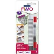 Комплект из трёх лезвий - нож для резки пластики FIMO арт. 8700-04