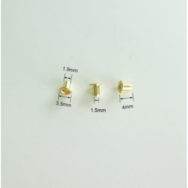 Набор мини-люверсов, 10 шт,  цвет на выбор, арт. mini_luv_1