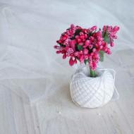 Тычинки, пучок из 10 веточек, цвет: фуксия