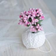 Тычинки, пучок из 10 веточек, цвет: розовый