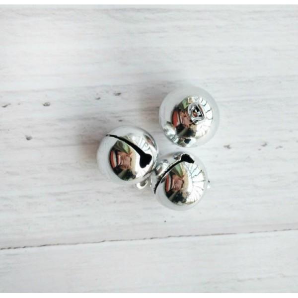 Колокольчик, 8 мм, цвет: серебро