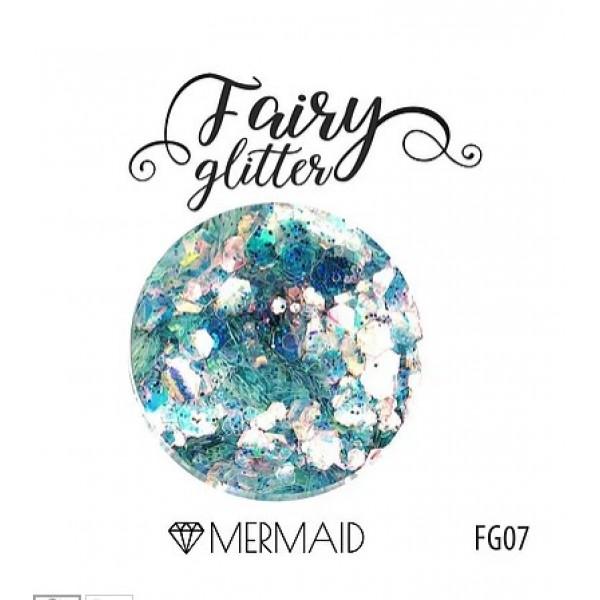 Глиттер серии FairyGlitter, Mermaid, 15гр