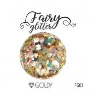 Глиттер серии FairyGlitter, Goldy, 15гр