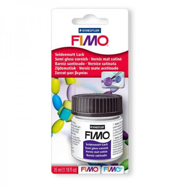 Полуматовый лак FIMO для запекаемой глины на водной основе, 35мл арт. 8704-01BK