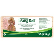 Super Sculpey Living Doll бежевый 454г  арт. ZSLD1