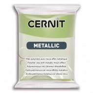 Полимерная глина CERNIT METALLIC 56 г. (051 - зеленое золото)