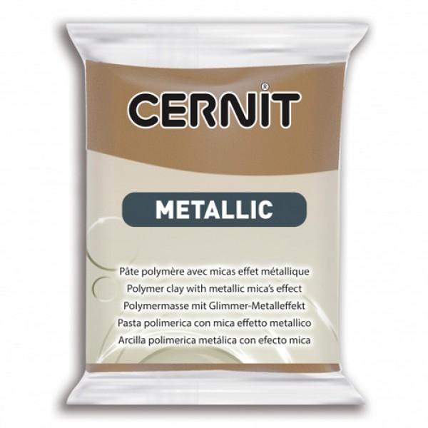 Полимерная глина CERNIT METALLIC 56 г. (059 - античная бронза)