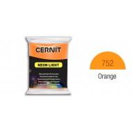 Полимерная глина CERNIT NEON 56 г., 752 - оранжевый