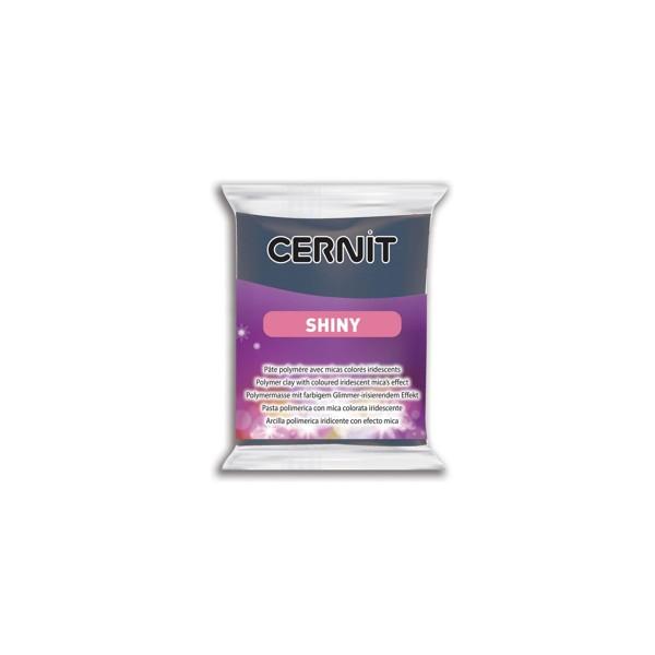 Полимерная глина CERNIT SHINY 56 г., 276 - космос