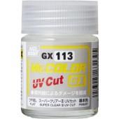 Лак матовый Mr.Color GX113, с UV фильтром, 18 мл (Япония) арт. clear-f