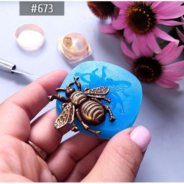 """Молд для полимерной глины """"Большой жук"""", арт. m673"""