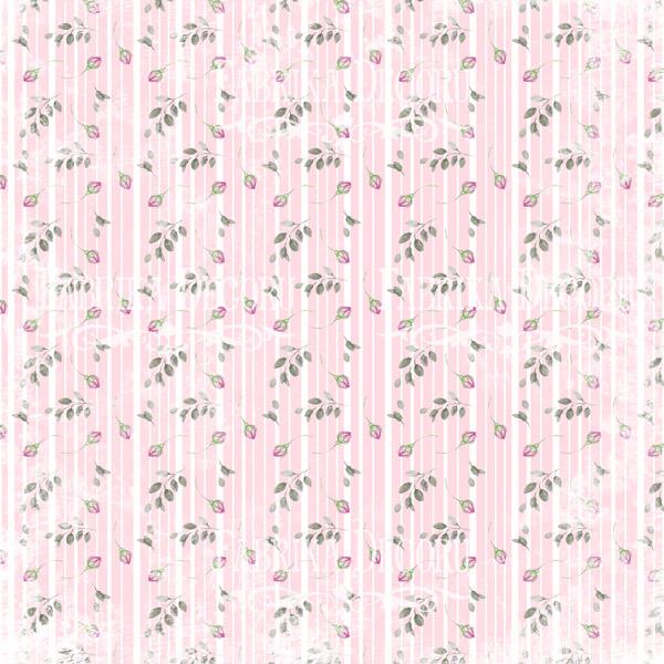 """Лист двусторонней  бумаги 30*30  из коллекции """"Shabby garden"""" от Фабрики Декору, SG5"""