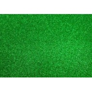 Глиттерный фоамиран зеленый 20х30, толщина 2мм арт.11786