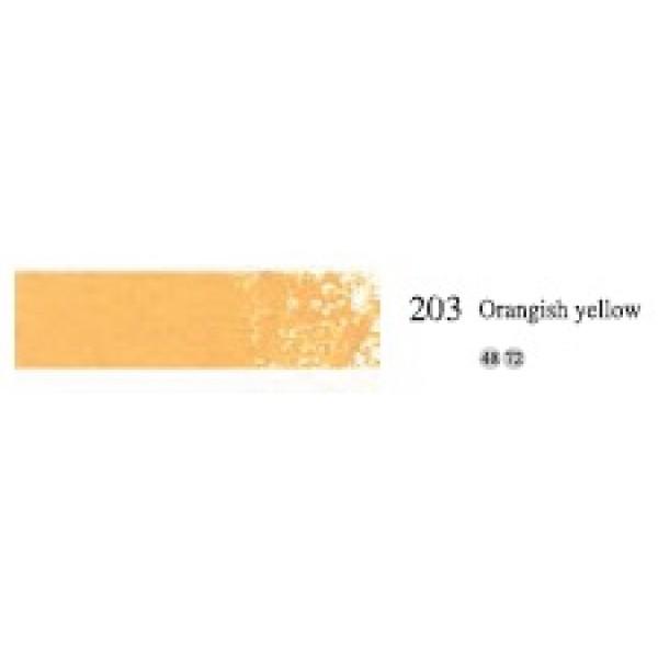 Пастель масляная мягкая профессиональная, №203 оранжево-желтый