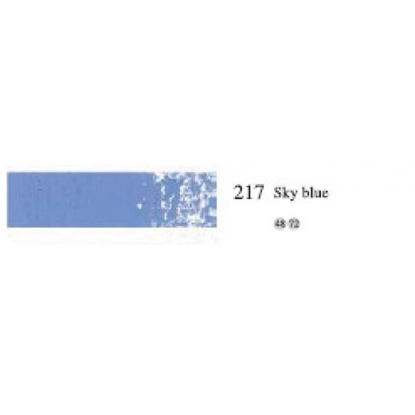 Пастель масляная мягкая профессиональная, №217 Голубой