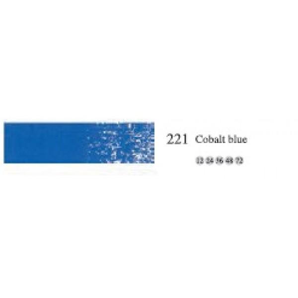 Пастель масляная мягкая профессиональная MUNGYO, №221 Кобальт синий