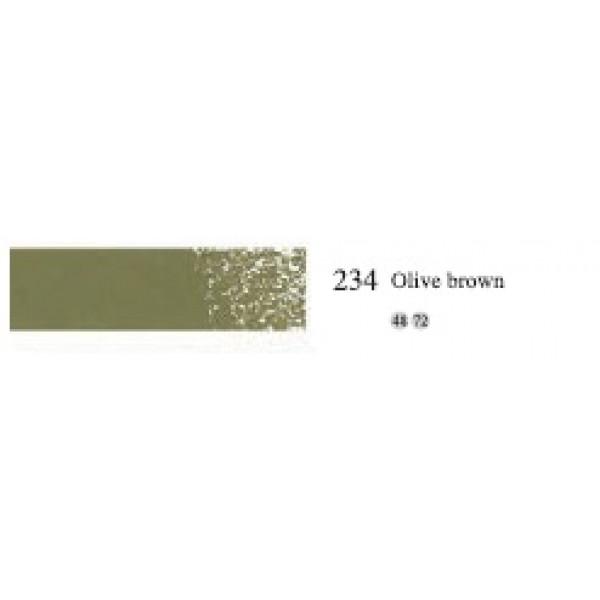 Пастель масляная мягкая профессиональная MUNGYO, №234 оливково-коричневый
