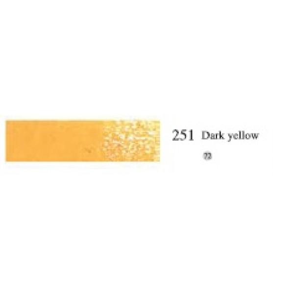 Пастель масляная мягкая профессиональная, №251 Темно-Желтый