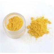 Флок пудра, пыльца бархатная, 10 гр, цвет: желтый