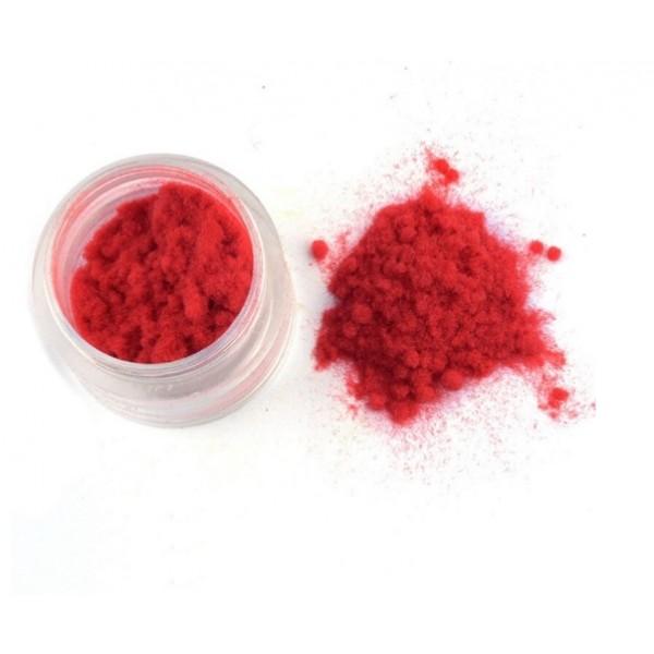 Флок пудра, пыльца бархатная, 10 гр, цвет: красный