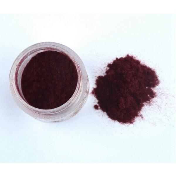 Флок пудра, пыльца бархатная, 10 гр, цвет: бордовый