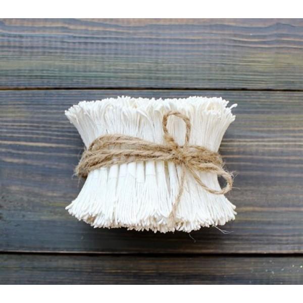 Тычинки лотоса, цвет белый, 25 шт в пучке