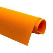 Фетр жесткий 2 мм, размер 90х50 см, плотность 330 гр, цвет: оранжевый арт. 2m47