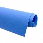 Фетр жесткий 2 мм, размер 90х50 см, плотность 330 гр, цвет: голубой арт. 2m69