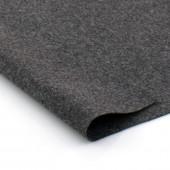 Фетр жесткий 2 мм, размер 90х50 см, плотность 330 гр, цвет: серый меланж арт. 2m79