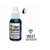 Краситель непрозрачный для смолы и полимеров CraftResinTint, Фиолетовый 10 мл