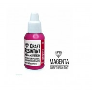 Краситель непрозрачный для смолы и полимеров CraftResinTint, маджента, 10 мл